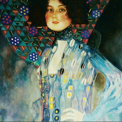 Copy of Gustaw Klimt Oil Board 36 x 28 inch 1999 NFS