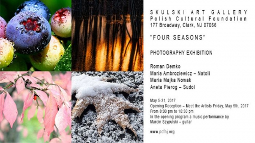 Four Seasons  Photography Exhibition at Clark, New Jersey May 2017
