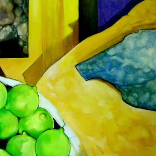 Lemons  Oil-Canvas 40 x 30 inch 2005
